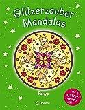 Glitzerzauber-Mandalas - Ponys: Malbuch für Mädchen ab 5 Jahre