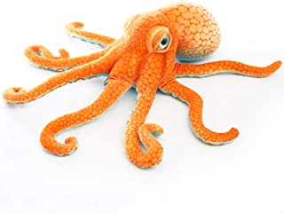 Realistic Octopus Plush,Giant Stuffed Marine Animals Toy Gifts for Kids (31.4 inch)