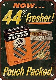 5Polar Bear& Sir Walter Raleigh Smoking Tobacco Metal Tin Sign Decoration Iron Painting Metal Decorative Wall Art