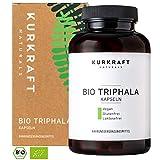 Kurkraft Bio Triphala (180 Kapseln) - TÜV-Laborgeprüft - 500mg - Original ayurvedisch aus dem...