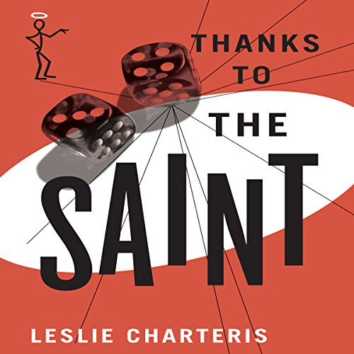 Thanks to the Saint audiobook cover art