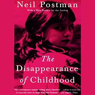 The Disappearance of Childhood cover art