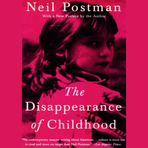 The Disappearance of Childhood audiobook cover art