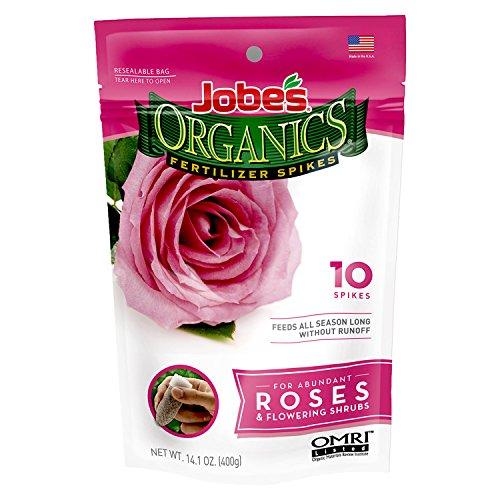 Jobe's Organics Rose & Flower Fertilizer Spikes