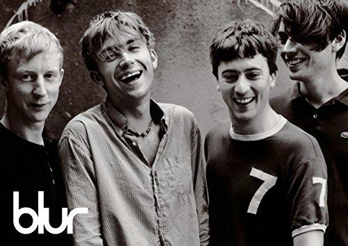 Blur # 7–90's Indi Band–Damon Albarn–Band–Musik Legenden–A3Poster–Kunstdruck–Bild
