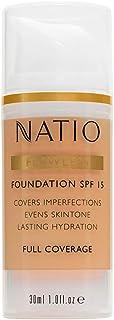 Natio SPF15 Flawless Foundation, Medium, 30ml