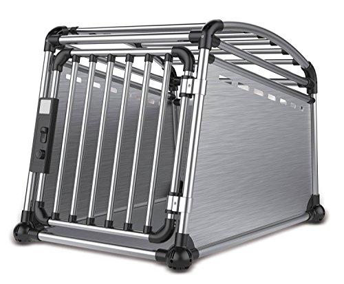 ALL FOR PAWS Gabbia Trasporto per Auto in Alluminio 3500 g