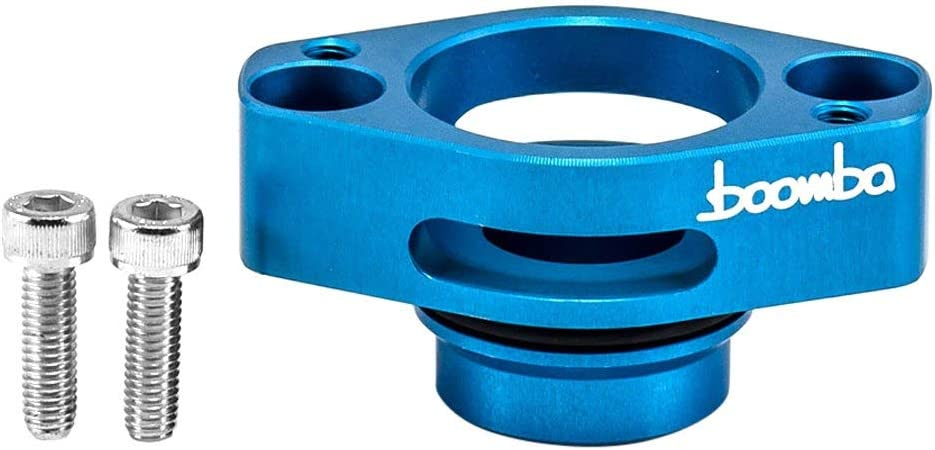 Boomba Racing Denver Mall Blow Quality inspection Off Valve Adapter with 13-15 Compatible Blue