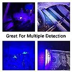 YOUTHINK Pet Urine Detector Light, 51 LED UV Black Light Flashlight Portable Dog Cat Urine Carpet Detector Super Bright UV Light, for Pet Stain, Minerals, Automotive Leak Detection 16