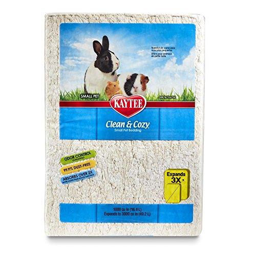 Kaytee Superpet | Clean & Cozy Animales pequeños/Roedor/Cama para hámster |...