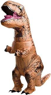 TTAototech - Disfraz inflable de tiranosaurio rex, unisex, para adultos y niños, para fiesta de disfraces o Halloween