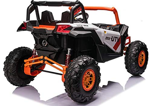2021 XXXL UTV 4x4 Sport Edition 2 Seater 24VOLTS Buggy/UTV Style Kids Electric Ride On Car with RC - Power Wheel TV Screen Ride ON UTV Buggy 24v Kids Ride On Car with Remote Control RZR Buggy