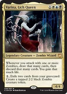 Magic: The Gathering - Varina, Lich Queen - Foil - Commander 2018