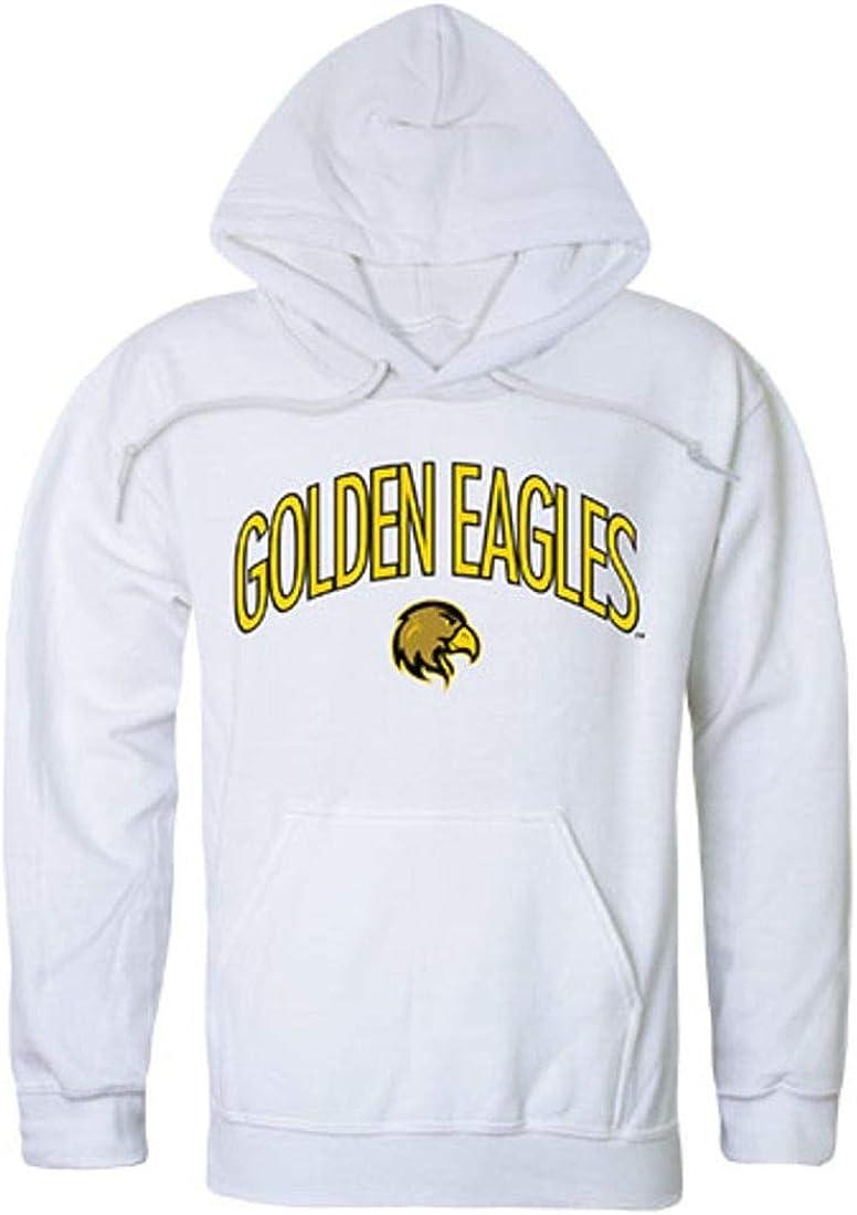 California State University Los Angeles Golden Eagles Campus Hoodie Sweatshirt White