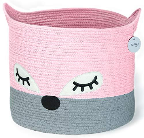 Cute Cotton Rope Storage Baskets
