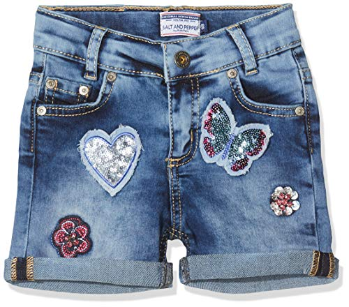 Salt & Pepper Mädchen 03120266 Jeans, Blau (Original 099), (Herstellergröße: 98)