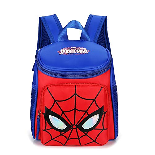 MEILIXIU Children's Cartoon Printed Backpack, Six Styles to Choose From, Made of Nylon Material, Suitable for School Supplies for Primary School Students (Color : C)