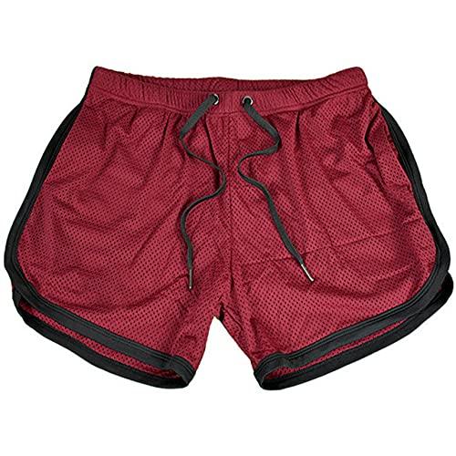 N\P Muscle Sports Shorts Hombre de secado rápido Running Training Tight Squats Thin Pants Gym Shorts