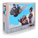 Android 17 Trunks Classic Puzzle Adultos Niños Puzzle 1000 Piezas Rompecabezas de madera Dragon Ball Jigsaw Toy Juego mental Entretenimiento familiar 52x38cm-Anime