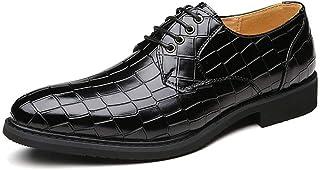 [ランボ] ビジネスシューズ メンズ グレー 通気性 24cm 23.5cm 歩きやすい カジュアル 優雅 ポインテッドトゥ ハンサム 革靴 営業マン 防滑 痛くない 通勤