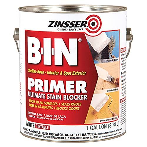 1 gal Zinsser 00901 White Zinsser, B-I-N Shellac Base...