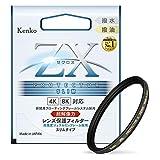 Kenko レンズフィルター ZX プロテクター SLIM 58mm 日本製 258330