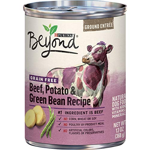 Purina Beyond Grain Free, Natural Pate Wet Dog...