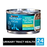 Purina Pro Plan Urinary Tract Health Pate Wet Cat Food, FOCUS Urinary Tract Health Formula Turkey &...
