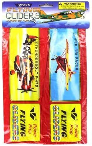 Bulk Buys KK776-72 2 Piece Flying Gliders Kids Toy - Pack of 72 by bulk buys