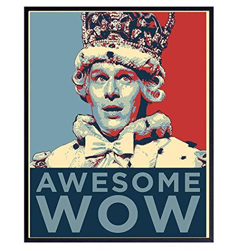 Hamilton Merchandise - Hamilton Wall Art - King George Poster Print Home Decor - Hamilton Musical - Hamilton Poster - Hamilton Gifts - Hamilton Lyrics - Awesome Wow