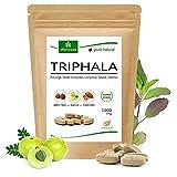 Tabletas de Triphala 1000mg (120 o 360 tabletas) hechos de la fruta del rey ayurveda Amla, Hiritaki y Bibhitaki: producto de calidad totalmente natural de MoriVeda (120 tabletas)