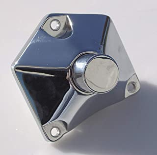 MidWest Motorcycle Pyramid Pushbuttom Start Button for Most Harley Models