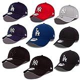 New Era 39thirty Gorra New York Yankees Los Angeles Dodgers en el Bundle con UD CALAVERA PAÑUELO en Muchos Colores - #06 NY Yankees, Large/X-Large