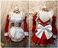実物撮影◆ Fate/Grand Order ネロ・クラウディウス メイド服 コスプレ衣装 全セット 風