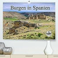 Burgen in Spanien (Premium, hochwertiger DIN A2 Wandkalender 2022, Kunstdruck in Hochglanz): Entdecken Sie bekannte Burgen, versteckte Ruinen und alte Staedte in Spanien. (Geburtstagskalender, 14 Seiten )