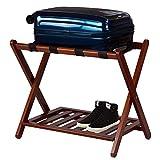 Casual Home Luggage Rack, Walnut...