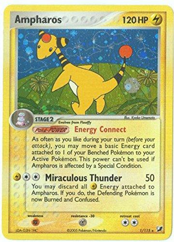 Pokemon - Ampharos (1) - EX Unseen Forces - Holofoil