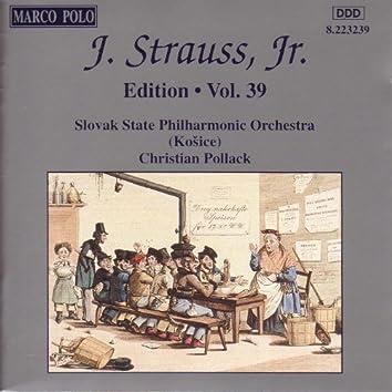 STRAUSS II, J.: Edition - Vol. 39
