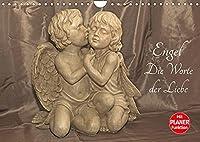 Engel - Die Worte der Liebe (Wandkalender 2022 DIN A4 quer): 12 Engelbotschaften begleiten Sie durchs Jahr. (Geburtstagskalender, 14 Seiten )