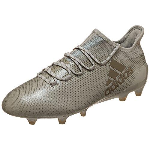 adidas adidas Herren X 17.1 Fg Fitnessschuhe, Mehrfarbig (Sesamo/Arcill/Arcill), 41 1/3 EU