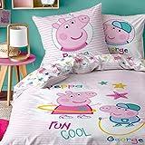 Peppa Wutz CTI Ropa de cama reversible de Peppa Pig · Ropa