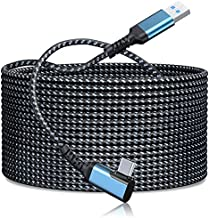 Link Cable 16FT/5M Compatible for Oculus Quest 2, FLOPAD High Speed Data Transfer & Fast Charging USB C Cable Compatible for VR Headset Quest Headset and Gaming PC