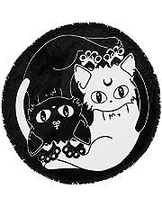 Killstar ronde fleecedeken - Yin Yang