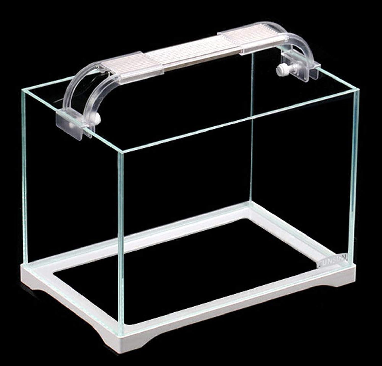 Desktop Small Ecological Glass Fish Tank  Home Small goldfish Aquariuma