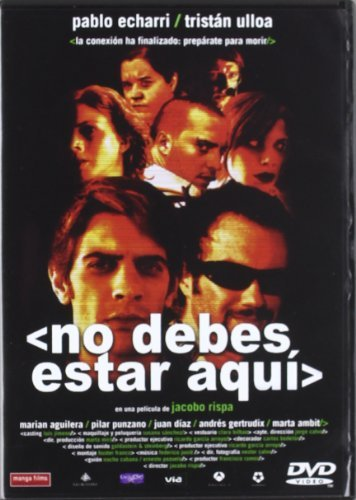 No Debes Estar Aqui (Reed) (Import Movie) (European Format - Zone 2) (2010) Pablo Echarri; Trist??n Ulloa; P