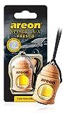 AREON Fresco Sport Lux Gold Deodorante Auto Appeso Specchietto Retrovisore 3D (Oro Confezione da 1)