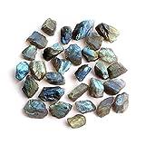 YSJJDRT Cristal Natural Rugoso 30 g/Paquete Natural Colorido Piedra Mini Labradorite Rau Crystal Minerals Colección Decoración del hogar Decoración del Acuario (Farbe : Mini Labradorite, Größe : 50g)