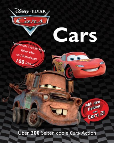 Disney Cars - Sammelband: über 200 Seiten cooler Cars Action