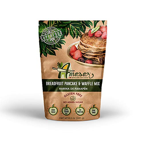 Breadfruit Flour Pancake & Waffle Mix, Gluten Free, 8.5 Ounces (1 Pack)