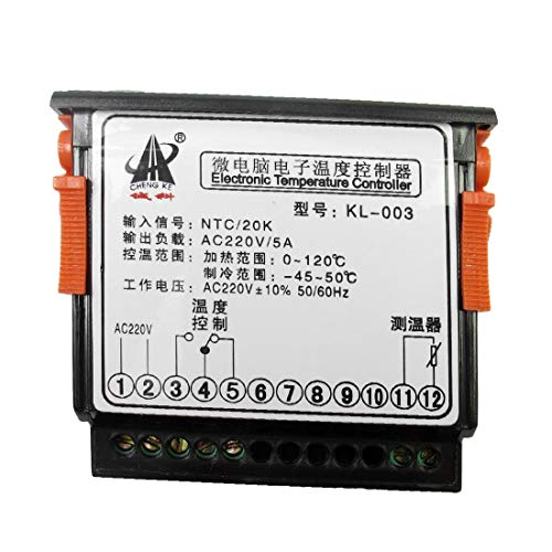 AC 220V Destacados Termostato digital Controlador de temperatura eficacia confiable KL 003 mano de obra fina w Cable del sensor